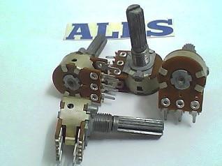 ALPS potentiometer 5KA \u0026 times; 2 -axis length 25MM 2pcs bag alps brand rk14 potentiometer dual axis a50k long 18mm plastic 7 feet
