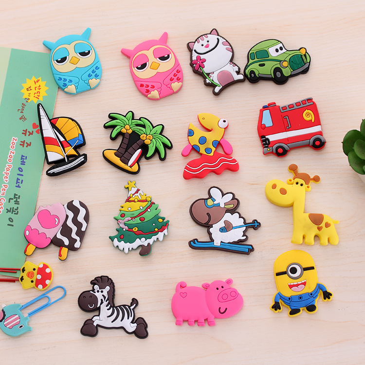 cartoon fridge magnets for kids small size silicon gel magnetic fridge magnet animal magnets. Black Bedroom Furniture Sets. Home Design Ideas