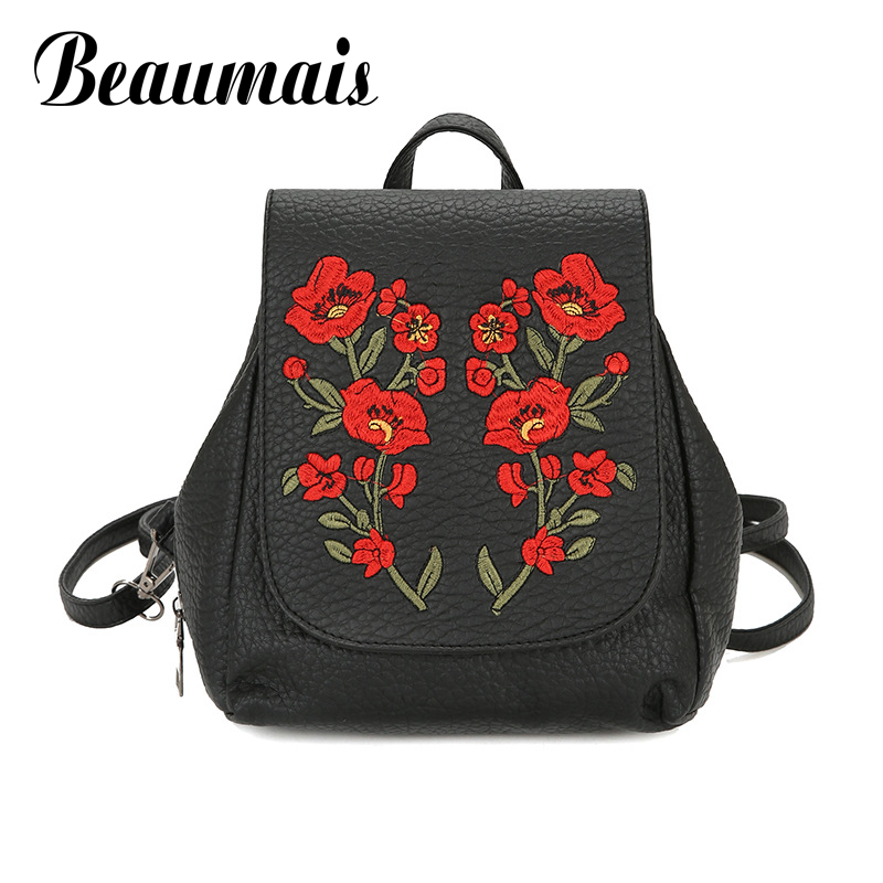 uiyi backpack men polyester microfiber pu leather patchwork backpacks for teenagers school rucksack school bags travel 160014 Beaumais Pu Leather Backpack School Bags For Teenager Girls Embroidery Backpacks Rucksack Shoulder Bags Travel Mochilas DB6087