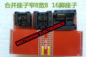 SOP8 150MIL SOP8 200MIL SOP16 300MIL do DIP8 IC adapter tanie i dobre opinie