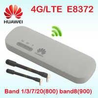 Odblokowany Huawei E8372-153 e8372 4g samochód adapter wifi bezprzewodowy 4G LTE modem wifi 4g 3g samochód mifi E8372h-153 wielki mur Wingle