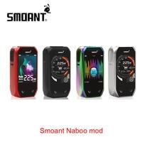 Original Smoant Naboo 225W TC Box MOD Classical UI Options and Music Mode No 18650 Battery Box Mod Vs Smoant Cylon / Charon Mini