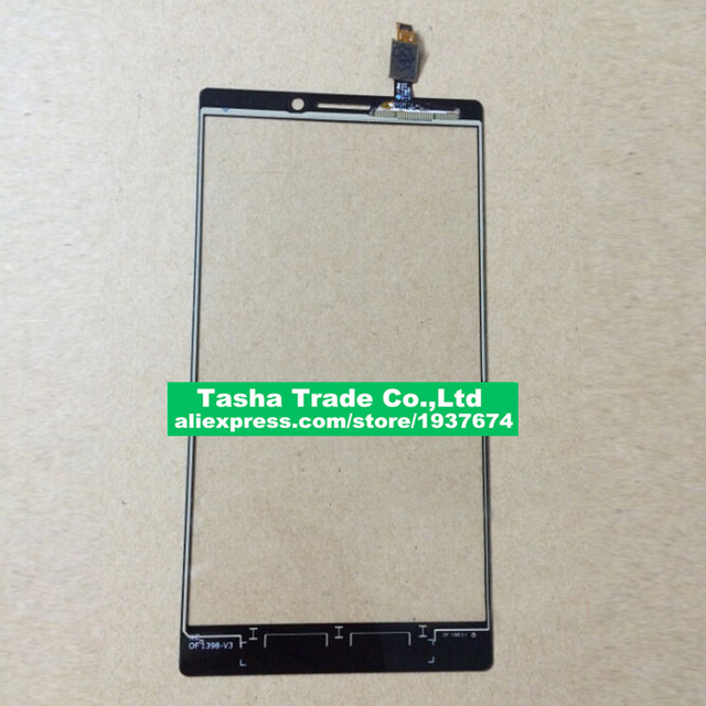 100% Good Working Front Glass Panel Lens Touch Screen Digitizer For Lenovo VIBE Z2 Pro K920 Smart Phone Sensor Replace Parts