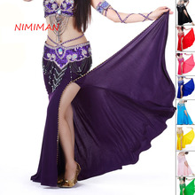 2017 New Arrivals Belly Dance Skirts Lady Indian Dress Women Belly dancing Gypsy Skirt for Dancers Female NMMQ9004