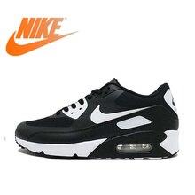 Официальный Оригинальная продукция Nike AIR MAX 90 Для мужчин кроссовки дышащие Спортивные кроссовки удобная быстрая Открытый Спортивное 875695