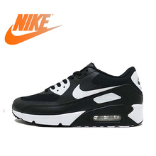 wholesale dealer 553a0 5fc8f Official Original Nike AIR MAX 90 Mens Running Shoes Breathable Sports  Sneakers Comfortable Fast Outdoor Athletic