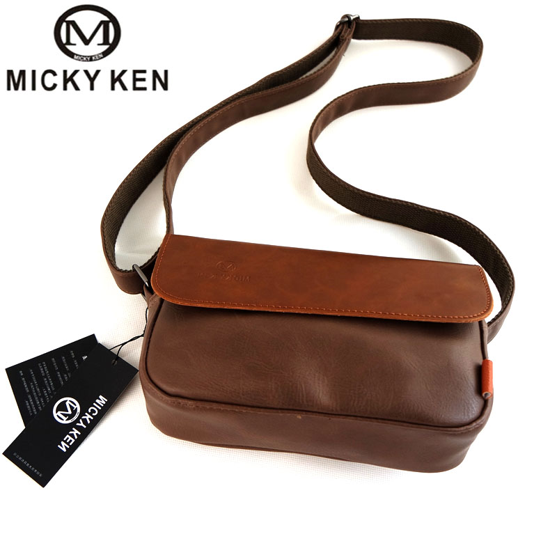 MICKY KEN Brand Men Shoulder Bags Genuine Leather Bag Men Messenger Bags Male Satchels Vintage Crossobody Bag for Men Handbag messenger bag