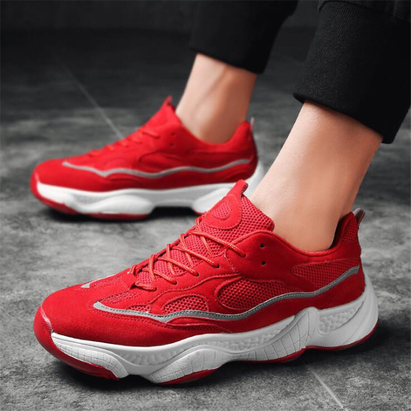 a6e3760f4b475 Dad Men Shoes 2018 Kanye West Fashion Mesh Light Breathable Men Casual  Shoes Men Sneakers Zapatos Tenis Superstar Ultra Boost-in Men s Casual Shoes  from ...