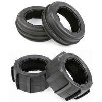 Baja Front Rear Desert Tires Skin Sand Tyre Skin for 1/5 HPI Rovan KM Baja 5B 2.0 SS RC Car Part