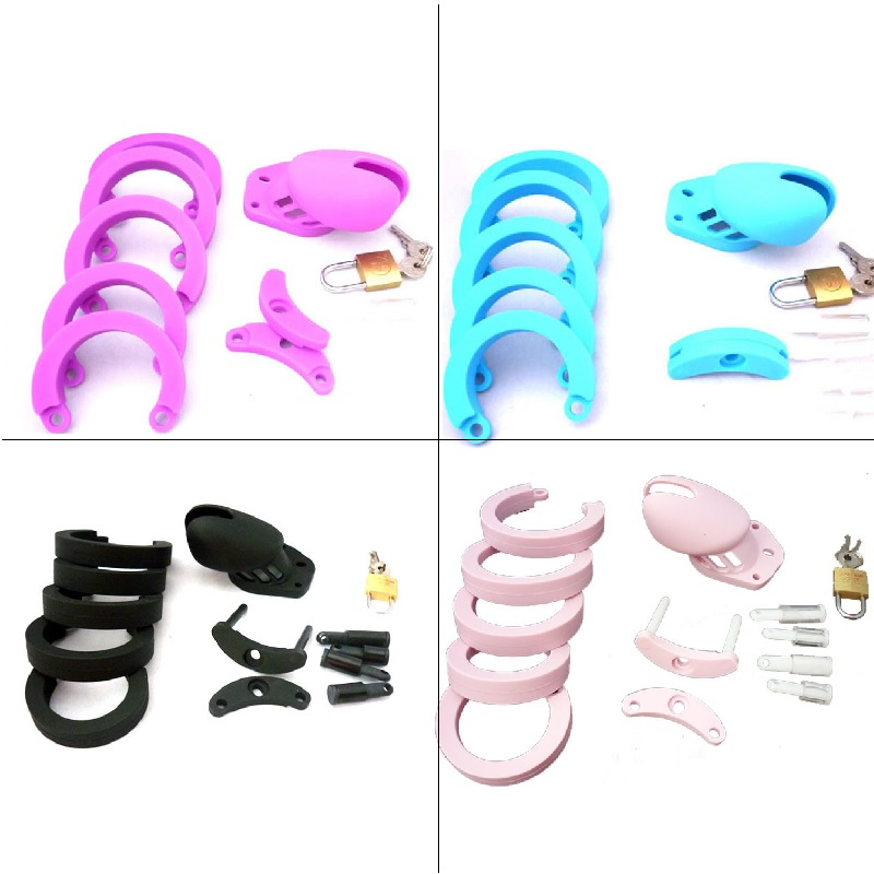 Male Bird locked Soft Silicone Male penis ring Chastity Cage BDSM bondage restraint device short CB6000 set sex toy for men Male Bird locked Soft Silicone Male penis ring Chastity Cage BDSM bondage restraint device short CB6000 set sex toy for men
