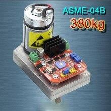 ASME 04B Cao điện Cao mô men xoắn Servo Lái Bánh Răng 380Kg. cm DC 12 24 V Lớn Robot Tay Máy cho Robot Cánh Tay Cơ Khí XZ0033
