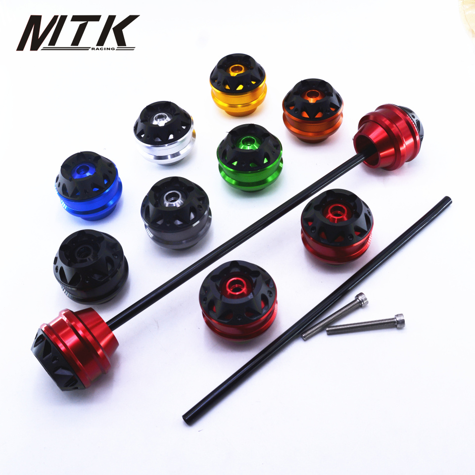 MTKRACING Free shipping for SUZUKI BURGMAN 650 2011-2018 CNC Modified Motorcycle Front wheel drop ball / shock absorber mtkracing free delivery for kawasaki z1000sx 2011 2015 cnc modified motorcycle front wheel drop ball shock absorber