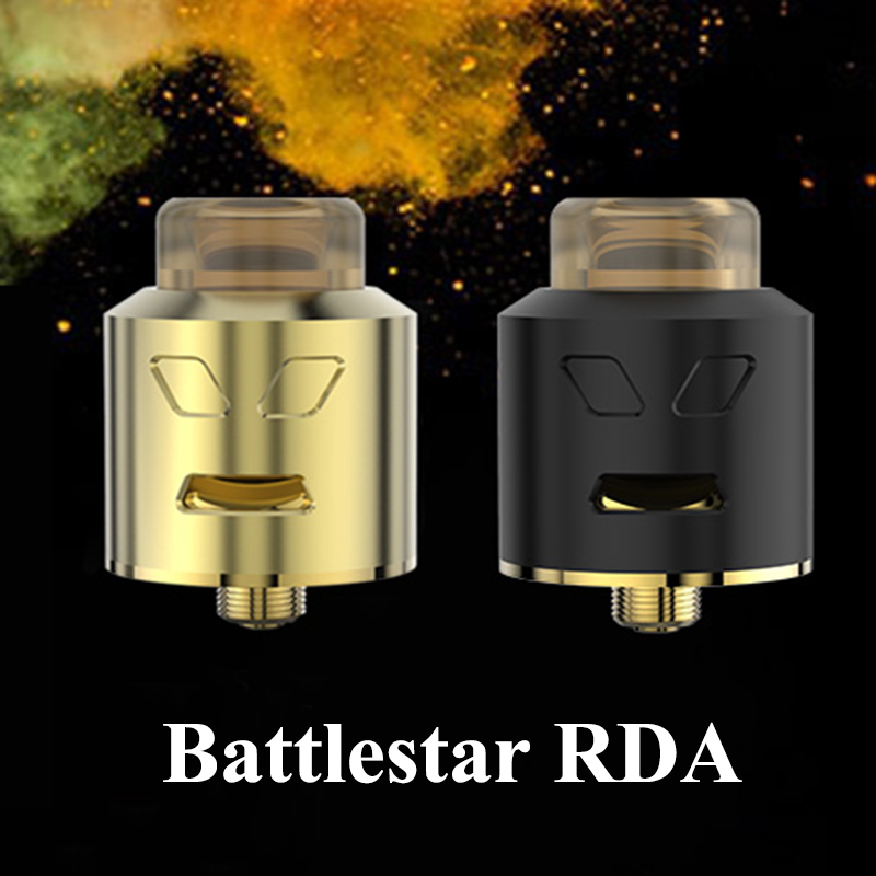 Electronic Cigarette Atomizers Smoant Battlestar RDA Tank Vape Box Mod Atomizer E Cigarette 510 Thread DIY