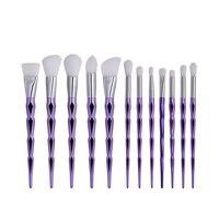 Professionelle 12 Stücke Kosmetik Make-Up Pinsel Set Stiftung Erröten Concealer Blending Make-Up Werkzeuge pinceis maquiagem