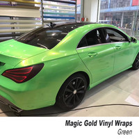 magice gold wrap viny serie Quality assurance car vinyl wraps air release High quality market Germany 160g glue