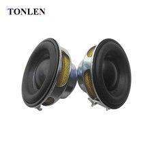 TONLEN 2 шт 40 мм Полнодиапазонный динамик 1,5 дюймов 5 Вт 4 Ом HiFi резиновый боковой динамик s DIY портативный Bluetooth динамик мини музыкальный динамик s