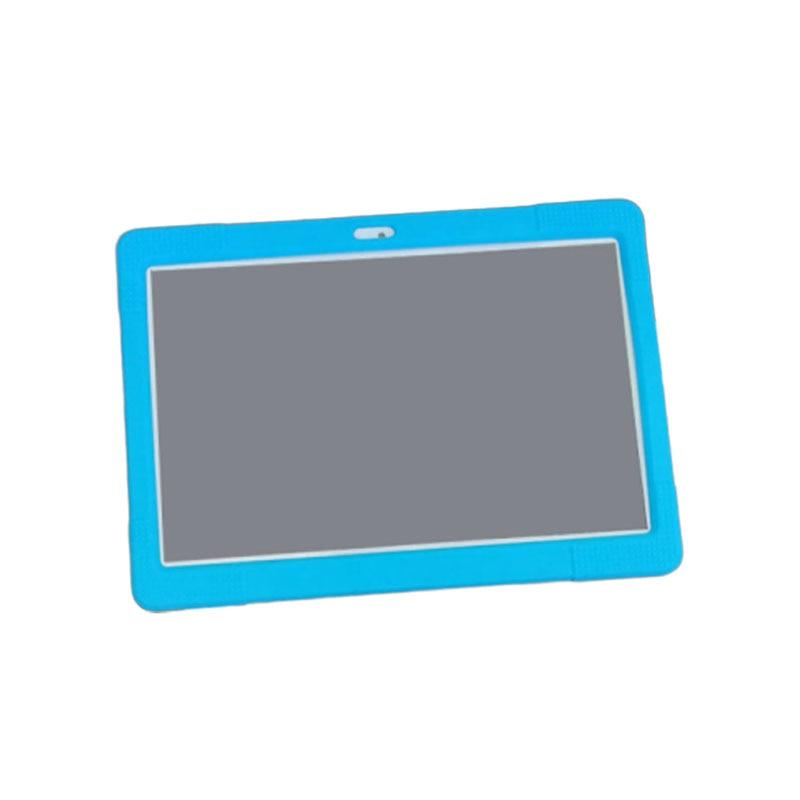 10,1 ''Универсальный мягкий силиконовый чехол Защитный чехол для 10 10,1 дюймов Android Tablet PC противоударный сплошной цвет задняя крышка