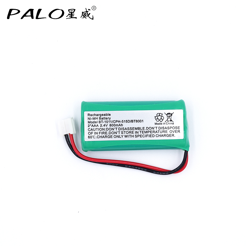 2 4v 800mah Home Phone Cordless Ni Mh Rechargeable Battery