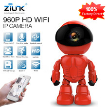 ZILNK 960P 1.3MP HD Wireless WI-FI IP Camera Robot P2P Night Vision Two way Audio Network Baby Monitor