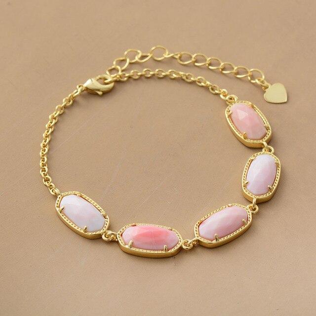 Chain Link Bracelets Gold...