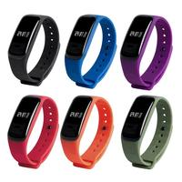 OLED Touch Multifunction Health Monitor Waterproof Sport Pedometer Wristband Unisex Bluetooth Remote Camera Smart Bracelet