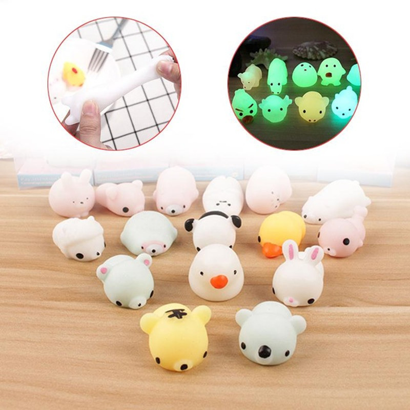 Cute Luminous Squeezing Animal Autism Toys Reduce Anti-stress Reliever Pressure Vent Toy Anti Stress Toys For Children Gift