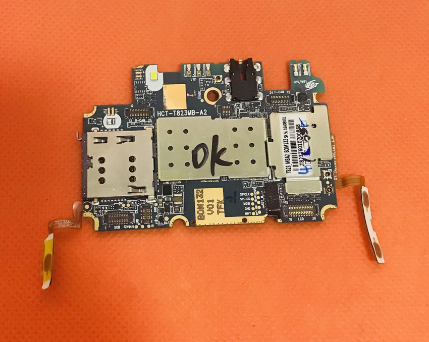 """Verwendet Original Mainboard 2g Ram + 16g Rom Motherboard Für Blackview Ultra Plus Mt6735 Quad Core 5,5"""" Hd Kostenloser Versand"""