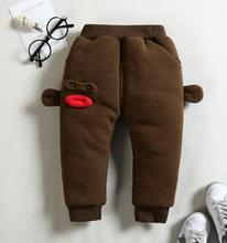 hot deal buy high quilty long baby pants 2019 autumn winter new children trousers for 1-4 year thickening kids pants with cashmere sy-f175120