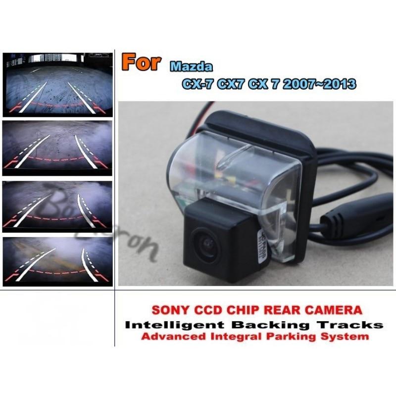 Caméra arrière de lignes de voies de stationnement de Directive pour Mazda CX-7 CX7 CX 7 2007 ~ 2013 le japon importe le modèle HD CCD HD/meilleur modèle