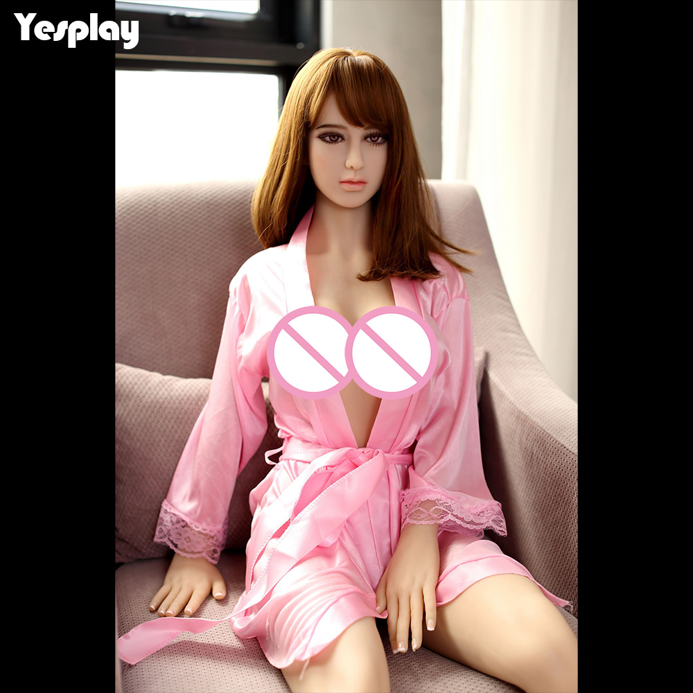 Yesplay 156cm Realistic Silicone Sex Doll for Men Male Masturbator Toys Real Full Size Adult Love Doll Oral Vagina Anal Lifelike 3d full solid silicone sex doll with big breasts oral sex male masturbator porn love toys free shipping