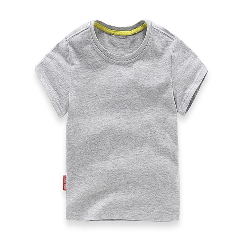 2018 Ең жаңа жігіттер Қыздар T Shirt Қатты - Балалар киімі - фото 5