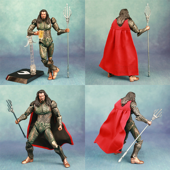 DC Aquaman Action Figure – Arthur Curry Atlantis Orin Mera Beast Kingdom | 8″ 22cm