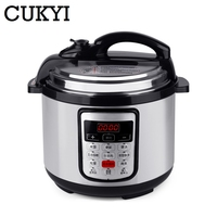 CUKYI 12 in 1 Multi Use Programmable Pressure slow cooking pot Cooker Quart 900W Stainless Steel Electric Pressure Cooker