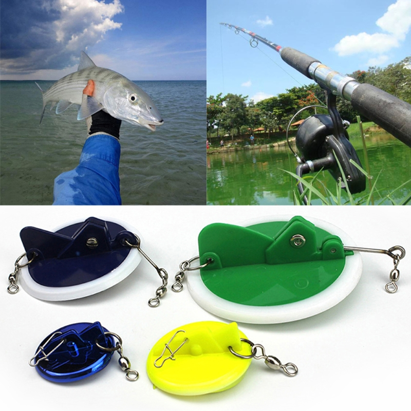 Fishing Trolling Disc With Lead Weight Sinker Connector Adjustable Accessories