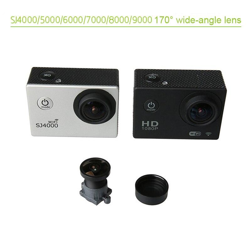 Новый широкоугольный объектив 170 градусов для экшн-камеры SJCAM SJ4000 SJ5000 SJ6000 SJ7000 SJ8000 SJ9000, DOM668