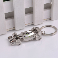 (12 pieces/lot)High Quality FIA Formula 1 World Championship Key Chain Ring Party Gift Retail and Wholesale Llavero Chaveiro