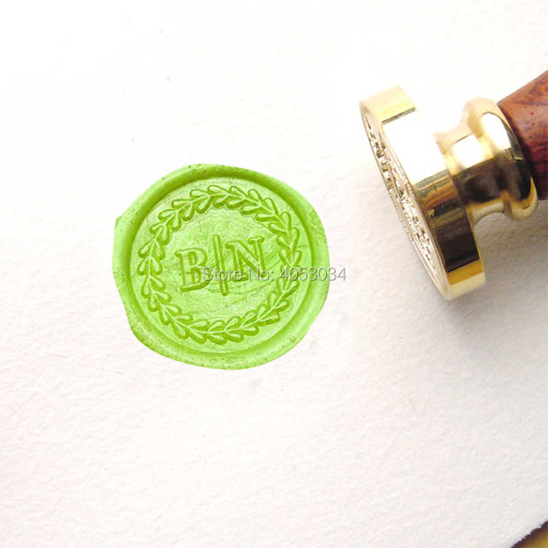 Moon and Star Wax Seal Stamp wax sealing kit Custom wedding sealswedding invitation seal