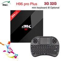 H96 PRO Plus 3g 32 г Amlogic S912 Octa coreSmart Android 7,1 компл. Топ ТВ box Поддержка Европа IP ТВ французский/Турция 2500 + Каналы