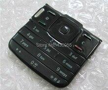Черный Новый Корпус Основные Функции Клавиатуры Чехол Кнопки Клавиатуры Для Nokia N79 Бесплатная доставка
