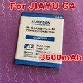 Konpson 3600mAhJY-G4 de la batería G4 jiayu G4c G4T G4S envío gratis con Línea de Seguimiento