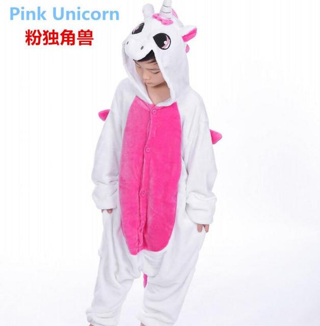 88d86e364eb5 Flannel Pijamas Kids Cosplay Cartoon Animal Baby Boys Girls Pyjamas Home  Clothes Panda Onesie Pajamas Unicorn Kids Sleepwear 01