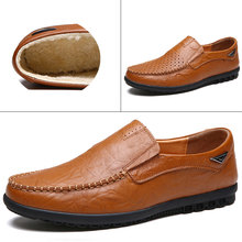 Mens shoes genuine leather oxford in