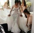 Mermaid Lace vestido de noiva vestidos de novia vestidos de casamento vestidos de Noiva vestidos de casamento robe de mariage vestido de noiva brautkleid