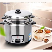 CFXB 50G mini appliance rice cooker 3L stainless steel 220V/50Hz Chassis heating soup Stainless steel liner Rice Cookers 500W