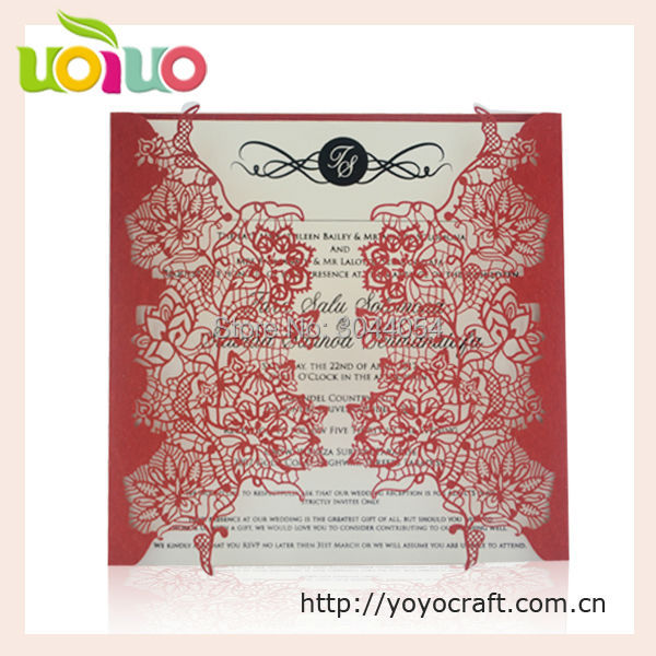 Nautical Wedding Invitation Card Favor Seahorse Greeting Custom Design 50pcs
