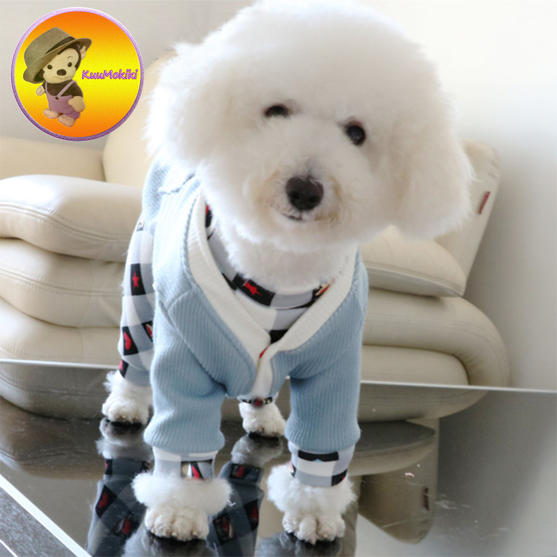 New Arrivals gentle Style Puppy sweater Uniform Suit Dog knitted wear Dogs Clothes pets clothing Pet dog shirt cat shirts