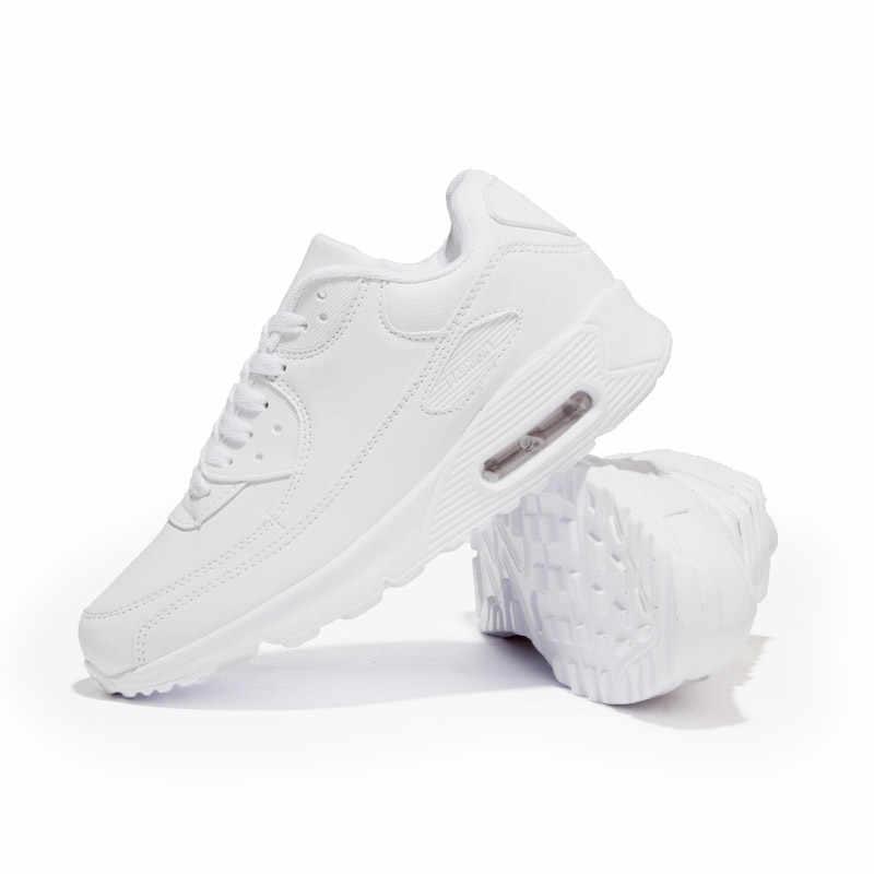 Hundunsnake Кожаные Женские Кроссовки C воздушными подушками Женская теннисная спортивная обувь мужская белая корзина Femme 2018 обувь Krassovki G-28