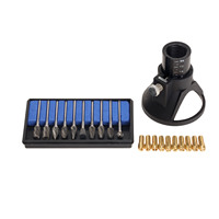 41Pc Rotary Tool Dremel Accessories Drill Dedicated Locator 0 5 3 2mm Brass Collet 4 8mm