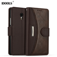 For Meizu M5 Case Cover 5 2 Inch Magnetic Luxury PU Leather Wallet Flip Phone Bag