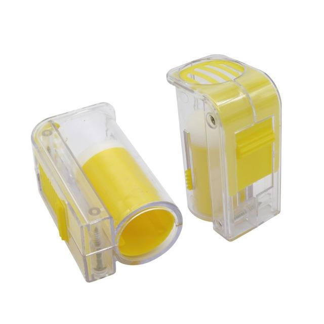 Handed Queen Bee Catcher Marker Bottle Beekeeper Tool Beekeeping Equipment Plastic Plunger Marker Bottle Bee Tool 1 Pc